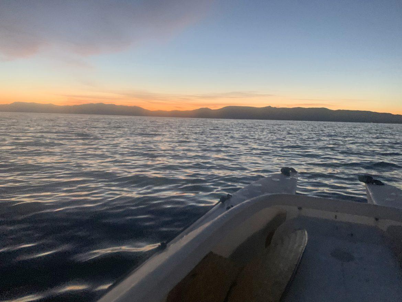 Lake Tahoe viewed from a Wavewalk 700 kayak