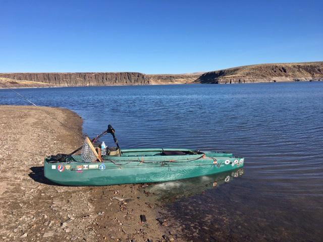 Wavewalk 500 electric fishing kayak - Idaho