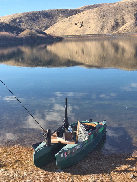 electric kayak for trout fishing - Idaho