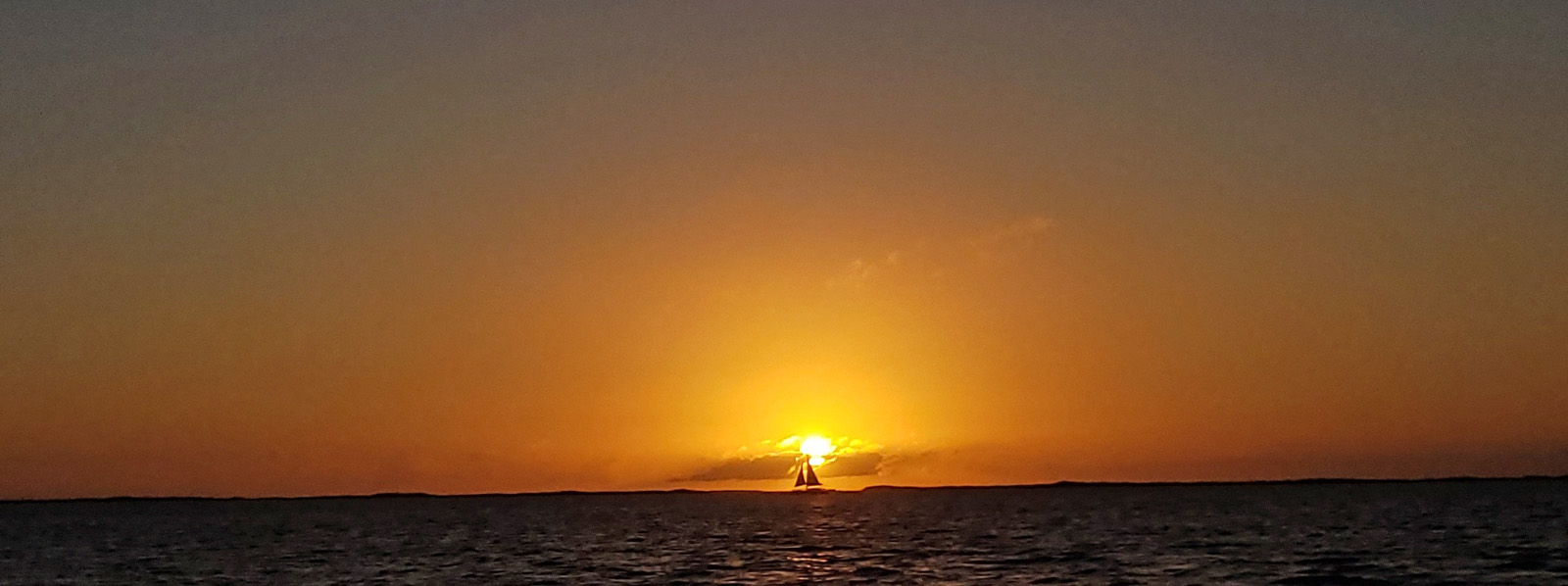 sunset on the ocean, Key Largo