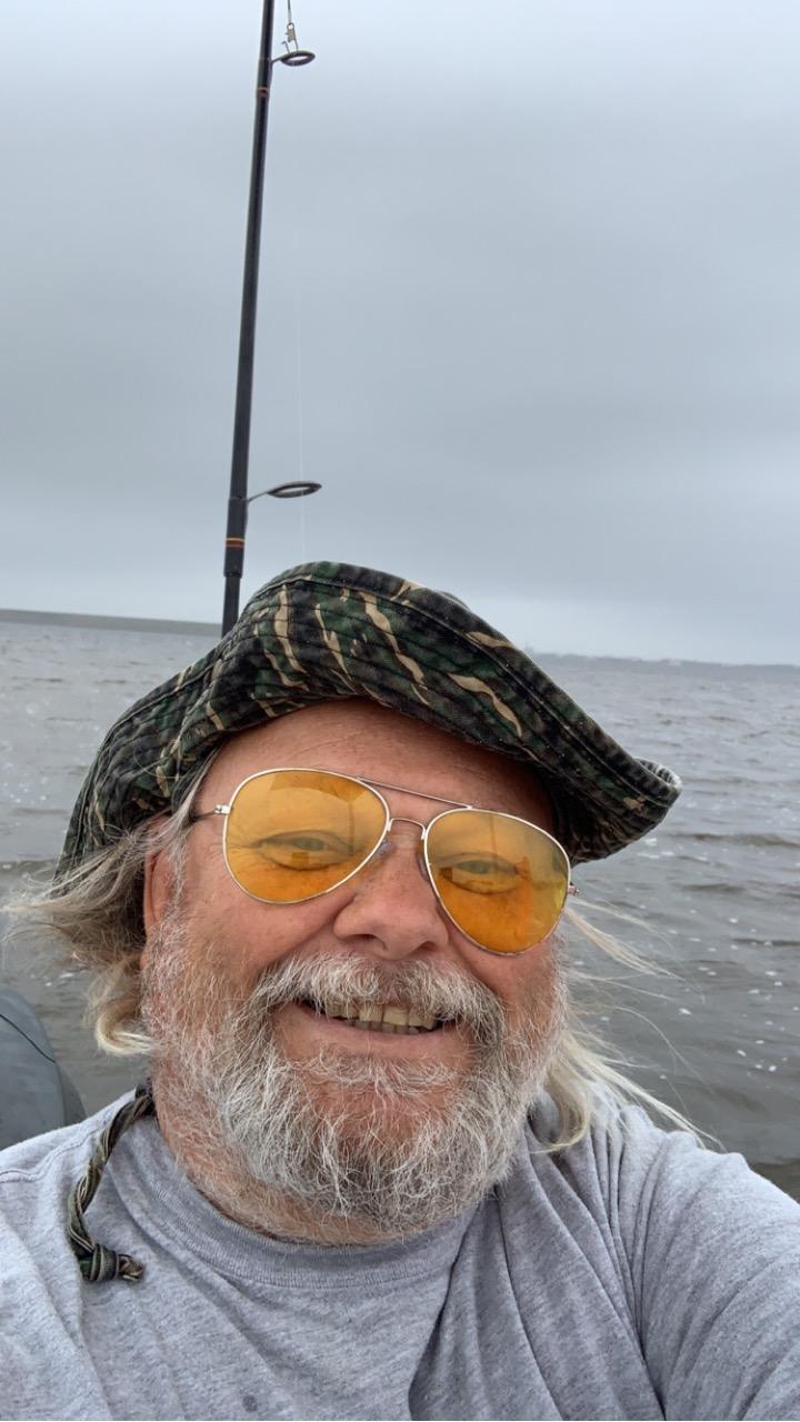 Chuck selfie