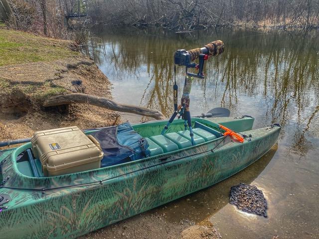 W500 kayak for wildlife photography – My first 2020 trip
