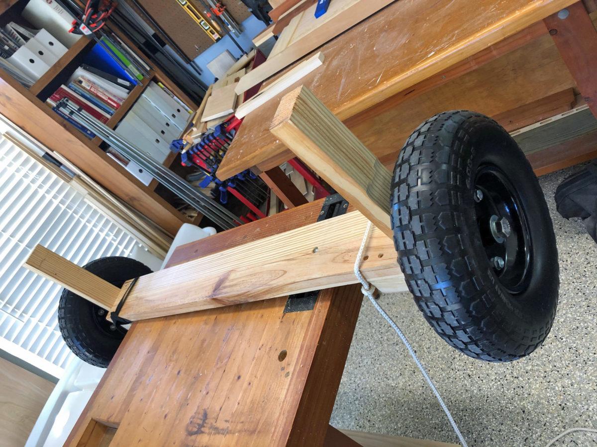 DIY cart for my Wavewalk S4