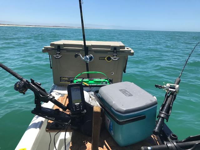 S4 offshore fishing motor kayak