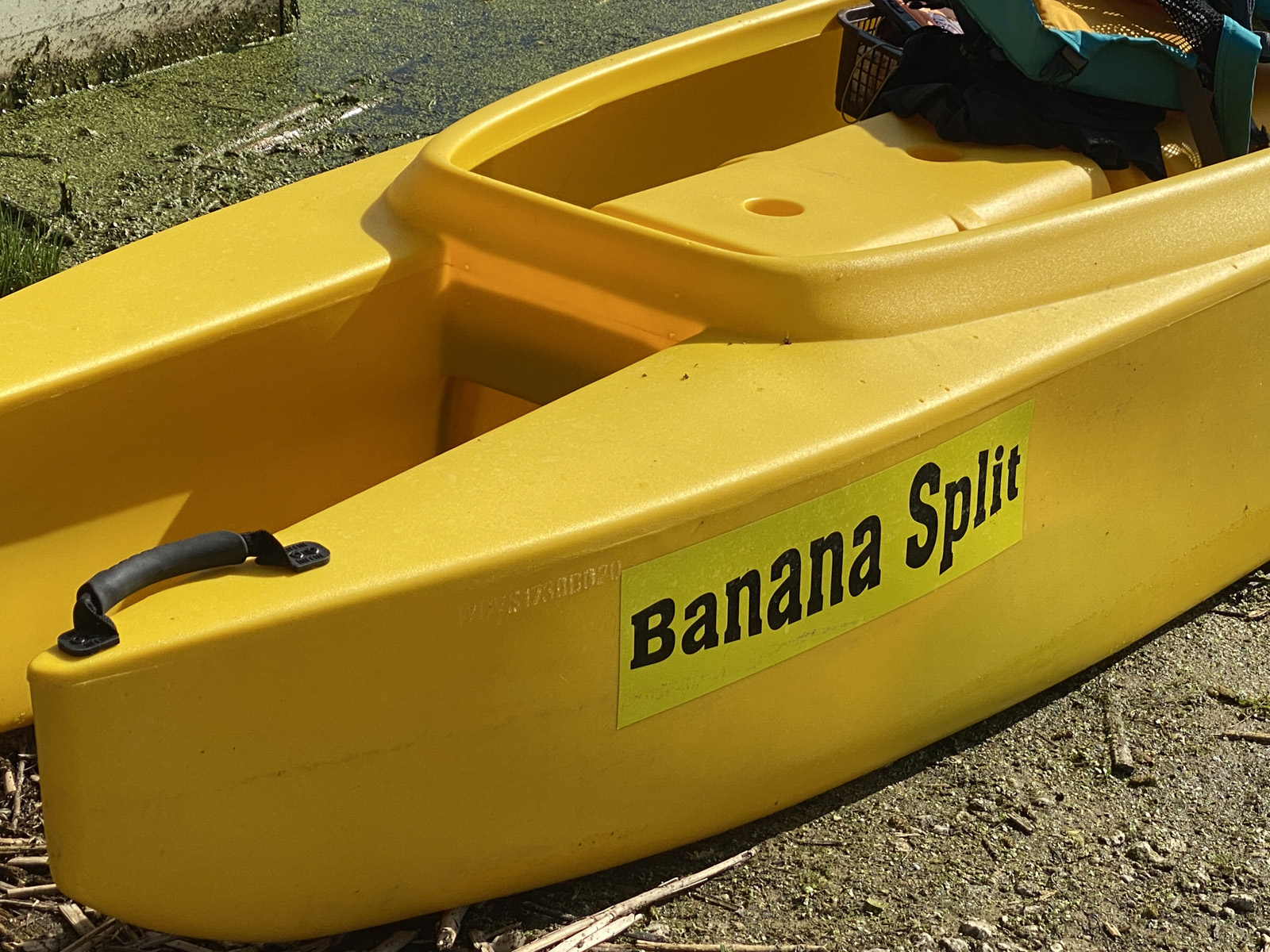 W700 kayak close up