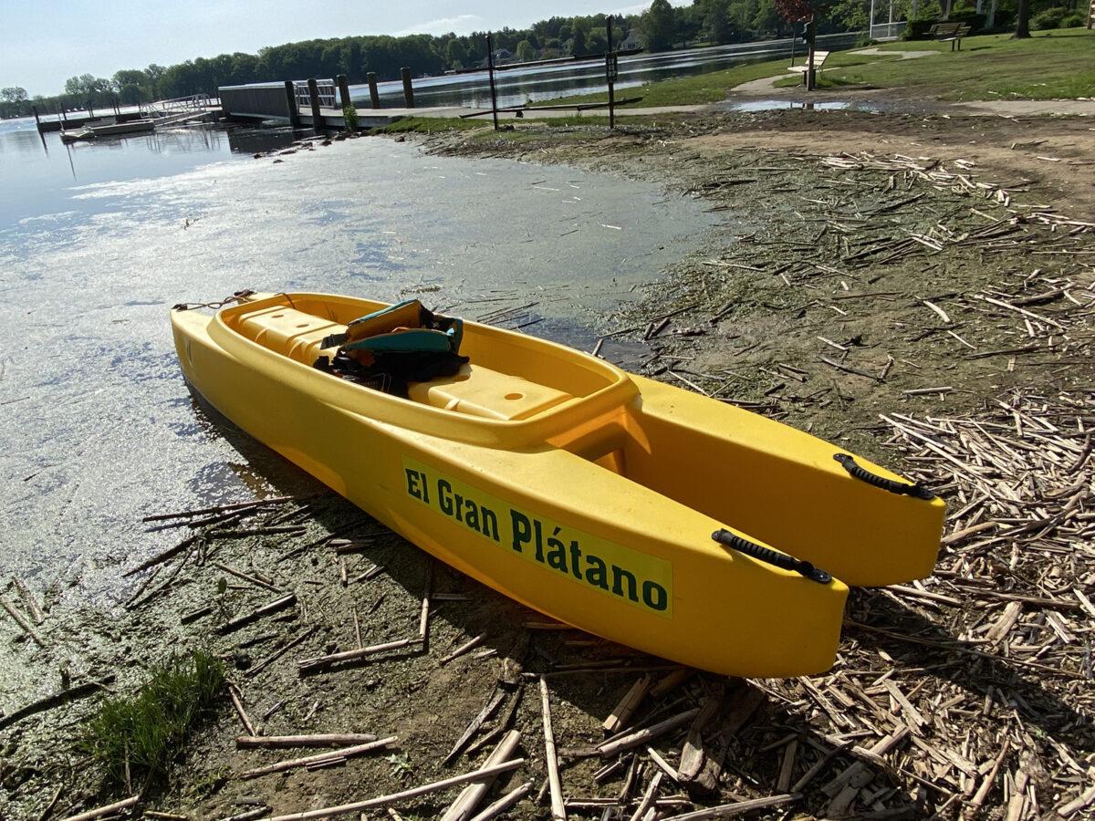 Banana Split W700 on Lake Michigan