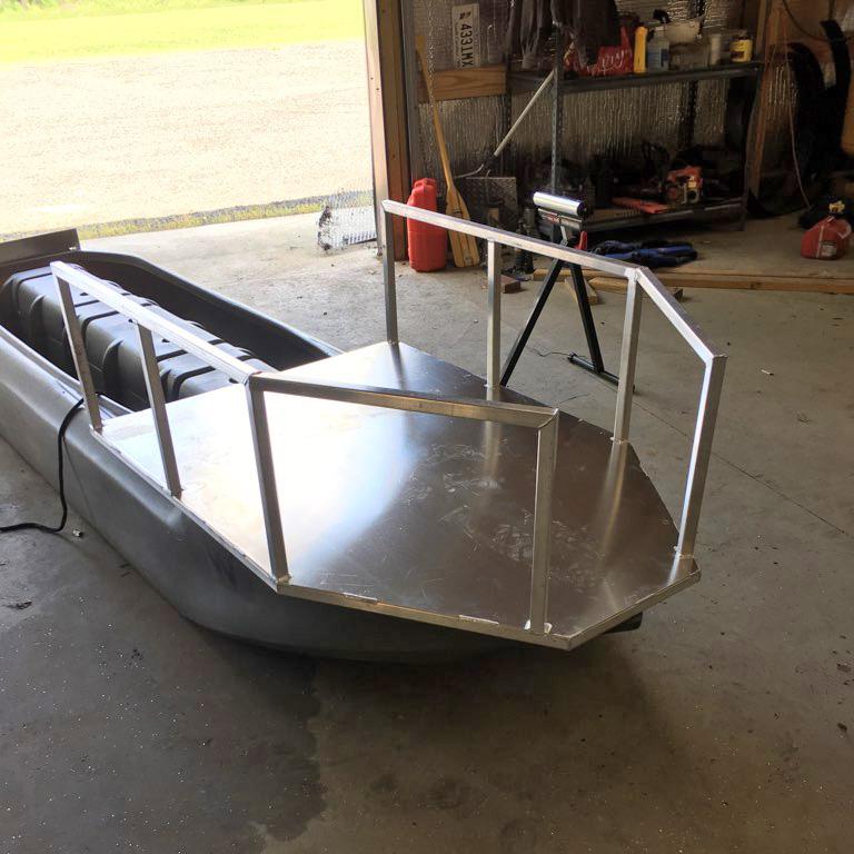 dog platform mounted on Wavewalk S4 kayak
