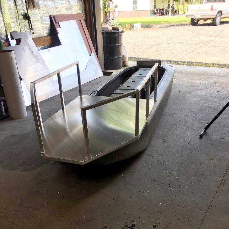Dog platform for my S4 hunting kayak