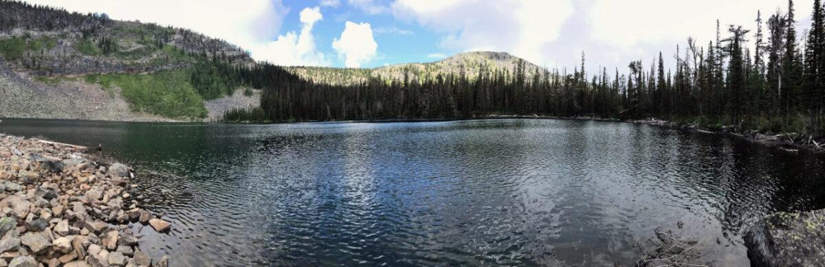 S4 in Montana alpine lake fishing trip