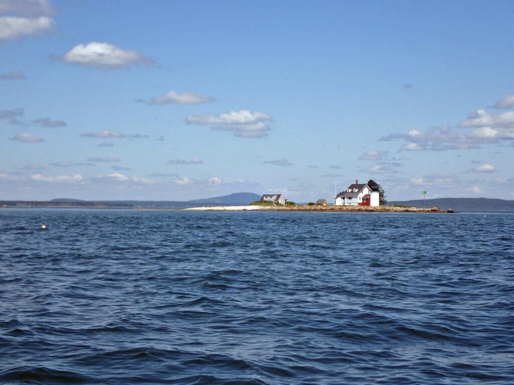Green Island lighthouse, ME