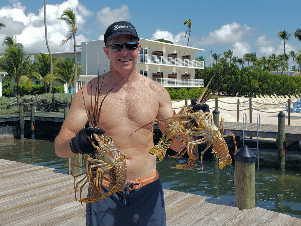 Lobsters caught on our trip